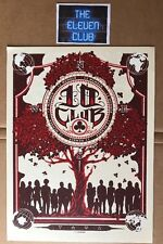 """2013 Pearl Jam 10 Club Poster 9""""x12"""" Print by Munk One LE OOP Vedder HOF"""