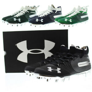 Under Armour Football Cleats Men's Spotlight Molded Sports Shoes 3020675