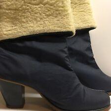 Vintage Golo boots Womens size 6 Vibram soles faux shearling