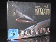 DVD SPACE BATTLESHIP YAMATO - STEELBOOK - LIMITED SPECIAL EDITION 2 DISC SET NEU