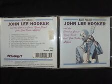 CD JOHN LEE HOOKER AND THE COAST TO COAST BLUES BAND / LIVE / RARE /