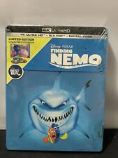 Finding Nemo 4K + Blu-ray + Digital Best Buy Ltd Edition Steelbook New Sealed