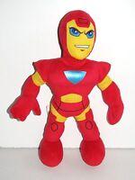"Marvel Playskool ~ IRON MAN ~ Super Hero Squad12"" Plush Toy  Tony Stark"