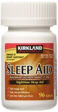 Kirkland Signature Sleep Aid Doxylamine Succinate 25 Mg X 96 Tabs ***NEW***