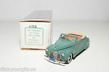 DURHAM DC-10 CHEVROLET CONVERTIBLE DELUXE COUPE 1941 TORONTO TOY SHOW MINT BOXED