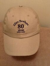 Baseball Cap, Hat, ELLETT BROTHERS, CHAPIN, SC 80 YEARS 1933 - 2013 Adjustable