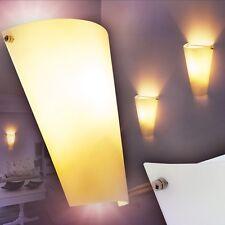 Moderne Wandleuchte Flur Leuchten Wand Wohn Zimmer Lampe Wandlampe Strahler Glas