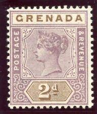 Grenada 1899 QV 2d mauve & brown MLH. SG 50. Sc 41.
