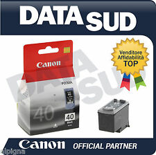 CARTUCCIA CANON PG 40 ORIGINALE PER iP1200 1300 1600 1700 MP170 180 190 220