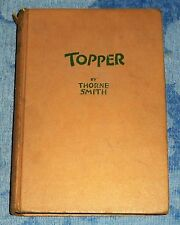 TOPPER by Thorne Smith Hardcover Book (1942, Sun Dial Press)