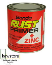 BONDA RUST PRIMER + ZINC, Fast Drying Anti Rust, 1 Litre