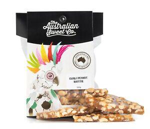 Chilli Peanut Brittle - Australian Made 3x150g packs