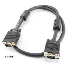 3ft Super VGA Monitor Cable / Cord HD15 Male/Male, SVGA