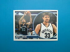 2010-11 Panini NBA Sticker Collection n.193 Marc Gasol Memphis Grizzlies