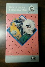 Birds of the Air and What You Wear - #3 in Series  - VHS Tape  - Ages 4 to 11