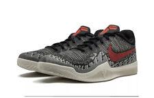 Nike Mamba Rage Black Crimson Sail Kobe Sneakers Men's Sz 8 New 908972-060