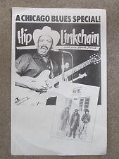 CHICAGO BLUES poster HIP LINKCHAIN w Rich Kirch & Frank Bandy