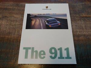Nice D'Occasion Original Véritable 1996 Porsche 911 Sales Brochure Avec