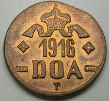 GERMAN EAST AFRICA 20 Heller 1916 T - Copper - Wihelm II. - 3298