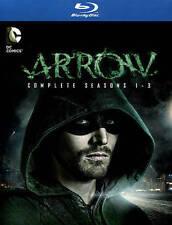 Arrow: Season 1-3 (Blu-ray Disc, 2015, 12-Disc Set)