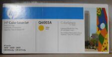 HP q6002a TONER 124a YELLOW PER LJ 1600 2600 2605 cm1015mfp cm1017mfp B OVP