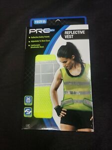 Pro Strength Women's Reflective Vest One Size Fits Most Green Light Mesh Safety