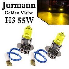 2x Jurmann H3 55W 12V Golden Vision Gelb Ersatz Scheinwerfer Halogen Auto Lampe