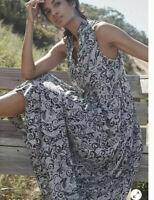 Anthropologie Marya Tiered Maxi Dress by Maeve size S New NWT