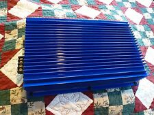 Linear Power 8002 SW Full Mods TO3's LP Old School Amp Beautiful Blue!