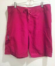 Billabong board shorts mens sz 32 red polyester beach swim water surf