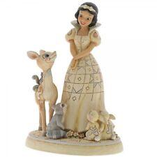 Jim Shore Figurine Forest Friends -waldfreunde Snow White Bambi 6000943 -20001L