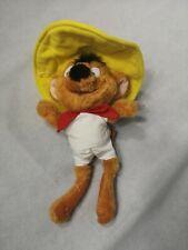 Vintage Speedy Gonazlez Mouse Plush Soft Toy Looney Tunes 38 cm