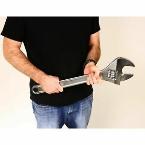 "24"" Drop Forged Steel Adjustable Wrench Extra Large Wrench"