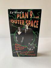 RARE OOP Plan 9 From Outer Space VHS film SCI FI Ed Wood '59 Vampira BELA LUGOSI