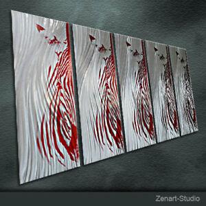 Abstract Metal Wall Art Original Handmade Special 3D Indoor Outdoor Decor-Zenart