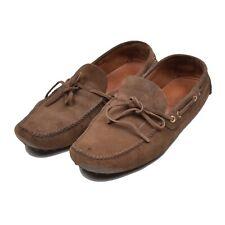 The Original Car Shoe Gr 10 Braun Brown SOMMER Leder Leather Moccasin Italy Cool