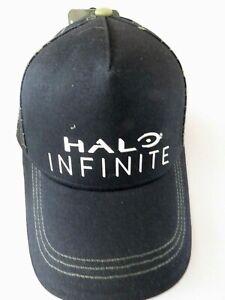 Genuine HALO INFINITE GAMER Baseball Cap Black Microsoft Brand New Tags(C5)55cm