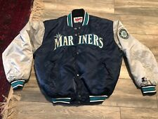 Vintage Starter Seattle Mariners Satin Jacket Diamond Collection Men's Large
