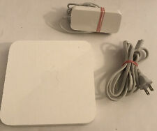 Apple AirPort Extreme Base 12V 2006 - A1143 4-Port Wireless N Router - TESTED