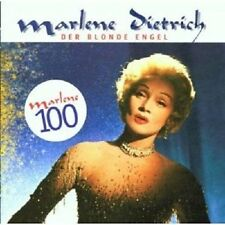 """MARLENE DIETRICH  """"DER BLONDE ENGEL/MARLENE 100"""" CD NEU"""