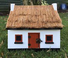 Thatched Cottage Style Birdhouse By Old Dakota Garden Birds