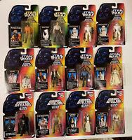 Star Wars POTF La Guerra De Las Galaxias / Guerre Stellar Lot of 12 wSS/LT Luke