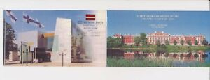 LN69130 Latvia houses palace good booklet MNH