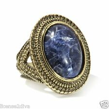 AUDREY HEPBURN JEWELRY COLLECTION GENUINE SODALITE RING SIZE 9 TRADEMARK NEW