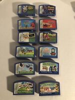 Lot of 12 Leapster Game Cartridges Leap Frog Bundle Toy Story Disney Cars