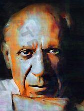 Pablo PICASSO iconica artista surrealista art print poster dipinto ad olio lff0143