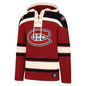 NHL Hoody Montreal Canadian Hoodie Hooded Pullover Lacer Jersey Hooded Sweater