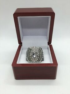 1992 Troy Aikman Ring Dallas Cowboys Super Bowl Championship Ring Set SILVER
