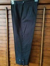 Dressbarn Women's Capri Pants  Black Size 6 pre-owned excellent  condition