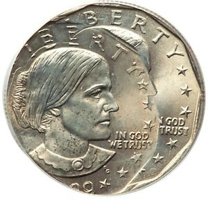 ER095 Mint Error 1999-P $1 Susan B. Anthony Dollar -- Triple Struck, PCGS MS66